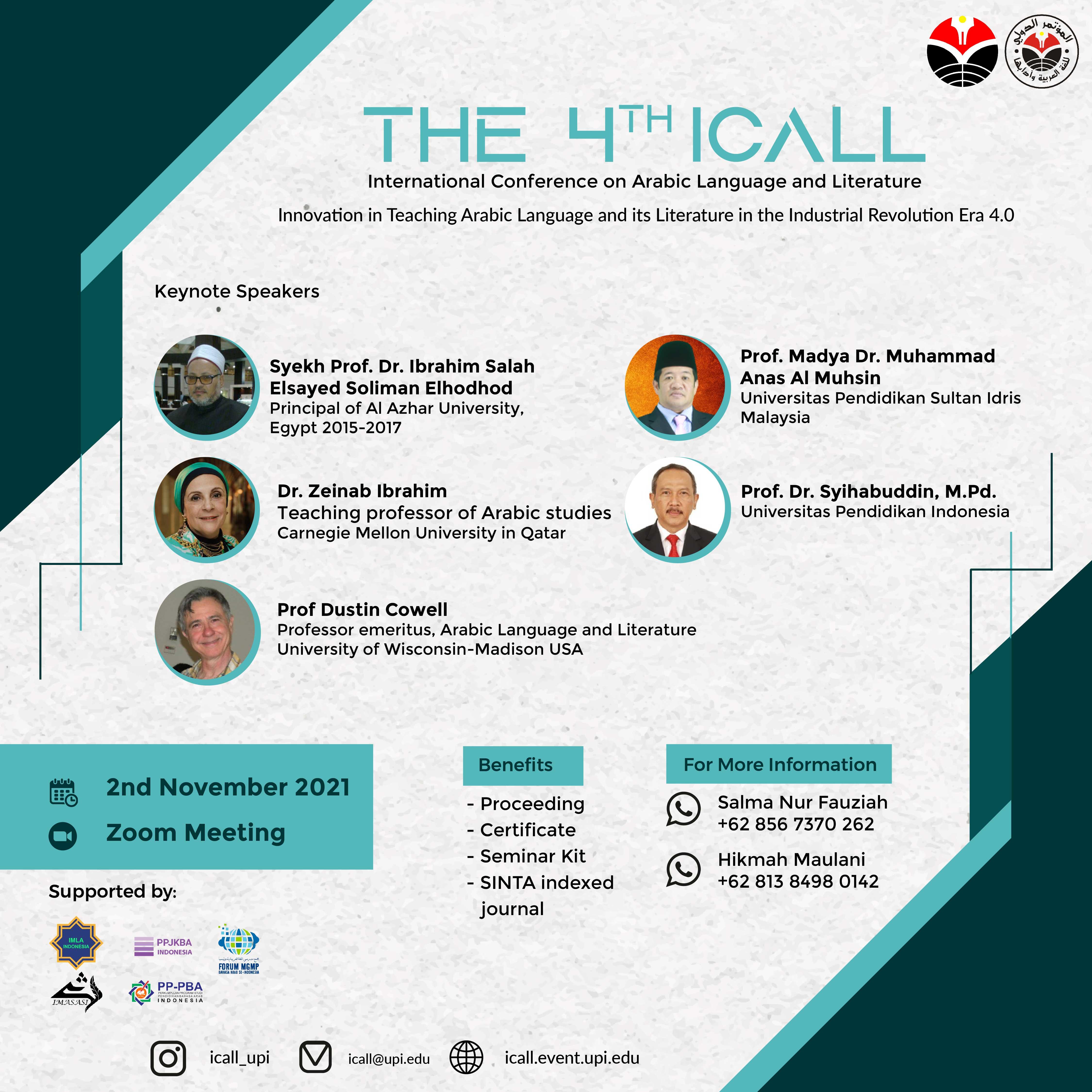 International Conference of Arabic Language
